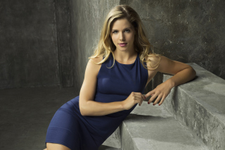 Emily Bett Rickards as Felicity Smoak in TV series Arrow Picture for Android, iPhone and iPad