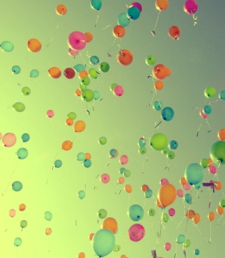 Balloons Background for 360x640
