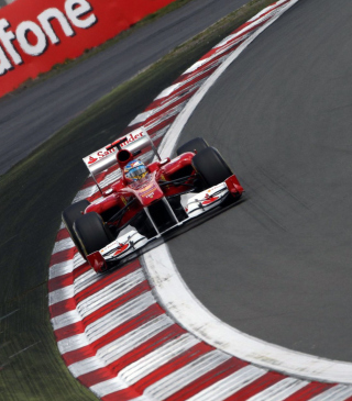 Hungarian F1 Grand Prix Background for Nokia C3-01