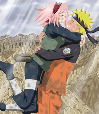 Free Uzumaki Naruto And Sakura Picture for 320x480