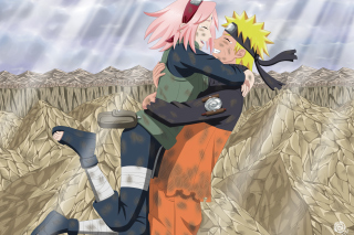 Uzumaki Naruto And Sakura Background for Android, iPhone and iPad