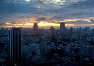 Tokyo Sky Background for Android, iPhone and iPad