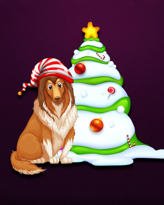 Happy New Year 2018 Dog - Fondos de pantalla gratis para Nokia X2