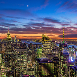 New York, Empire State Building sfondi gratuiti per iPad