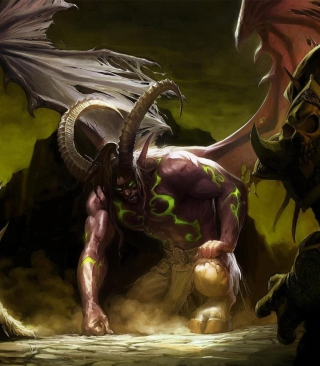Illidan Stormrage - World of Warcraft - Obrázkek zdarma pro iPhone 4