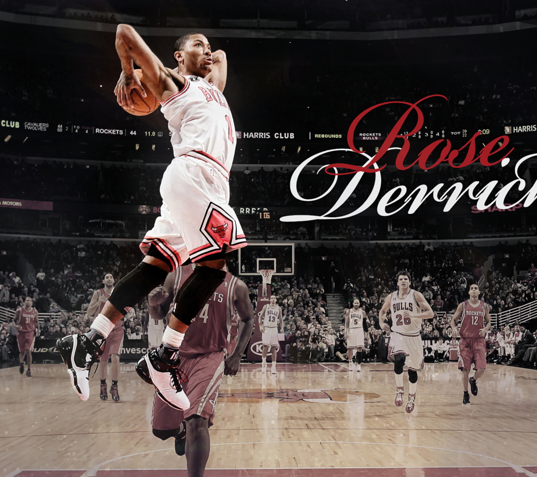 Screenshot №1 pro téma Derrick Rose NBA Star 1080x960