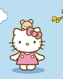 Screenshot №1 pro téma Hello Kitty & Friend 128x160