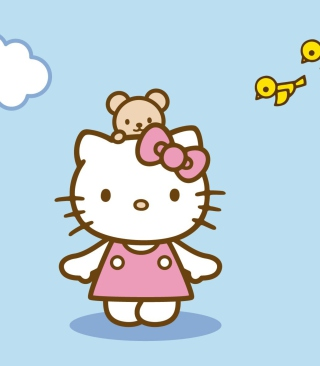 Hello Kitty & Friend sfondi gratuiti per Nokia C2-02