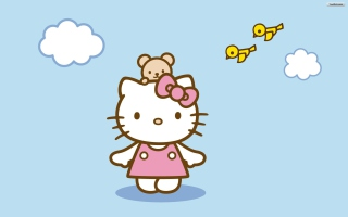 Hello Kitty & Friend Wallpaper for Desktop 1280x720 HDTV