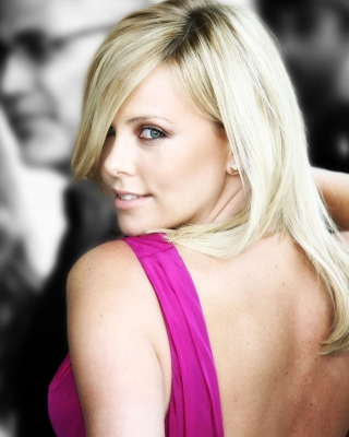 Charlize Theron Wallpaper for Nokia X2-02