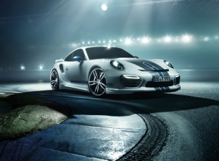 Porsche 911 Turbo Background for Android, iPhone and iPad