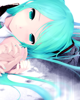 Free Humanoid Hatsune Miku from Vocaloid Picture for Nokia C1-01