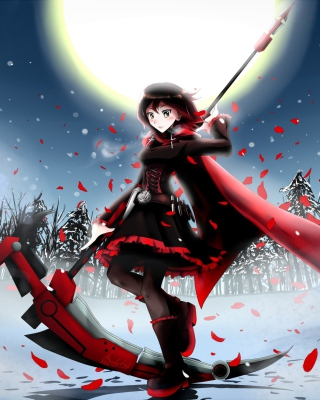 Free Rwby Ruby Picture for 240x320