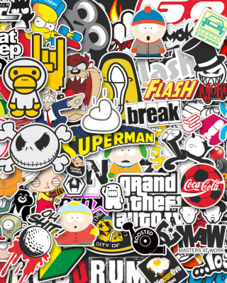 Free Funny Logos Picture for Nokia Asha 310