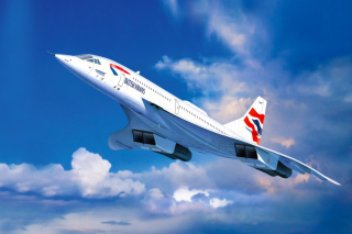 Free Concorde British Airways Picture for 480x400