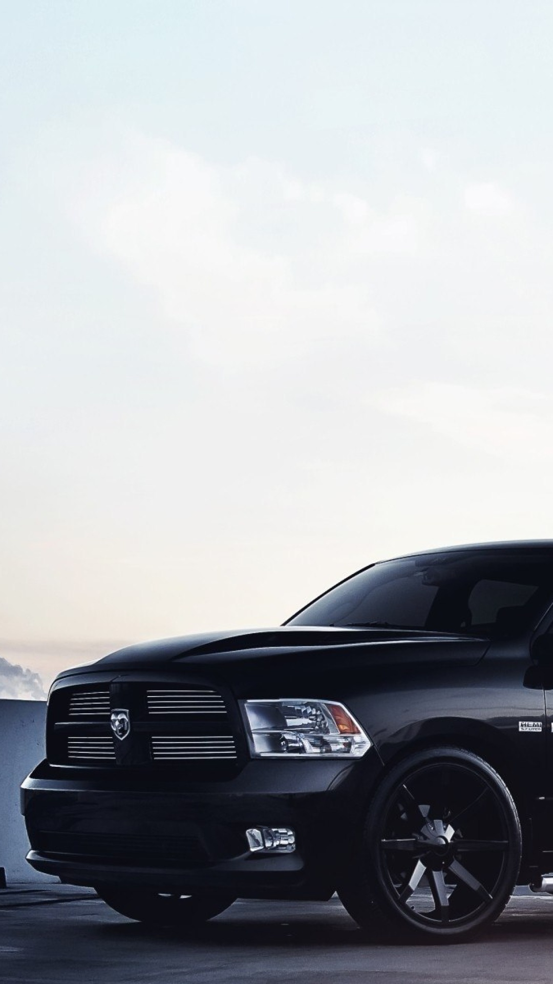 Dodge RAM 1500 wallpaper 1080x1920