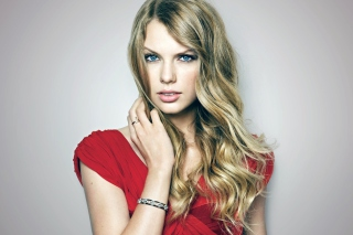 Taylor Swift Posh Portrait Background for Android, iPhone and iPad
