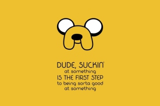Free Adventure Time Saying Picture for Android, iPhone and iPad