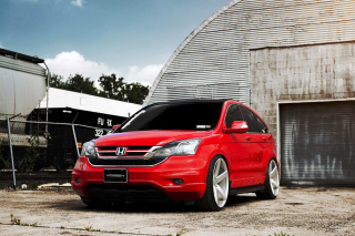Honda CRV Vossen Wheels Wallpaper for Android 480x800