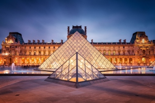 Обои Louvre Paris для Android