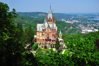Schloss Drachenburg in Germany Wallpaper for Android, iPhone and iPad