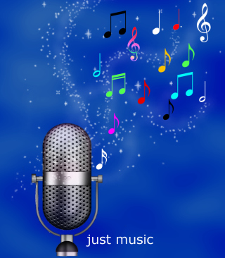 Just Music Background for 640x960