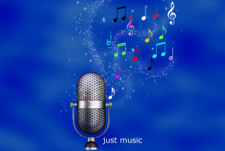 Just Music sfondi gratuiti per 480x400