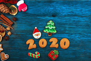 2020 New Year Background for Nokia XL