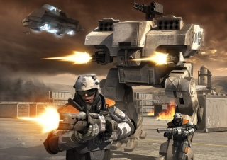 Battlefield 2142 Background for Android, iPhone and iPad
