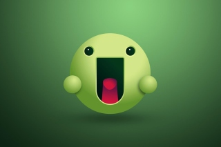 Green Smiley sfondi gratuiti per cellulari Android, iPhone, iPad e desktop