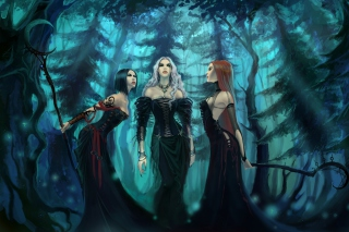 Three Witches Picture for Android, iPhone and iPad