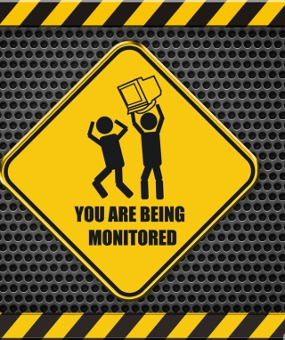 You Are Being Monitored - Obrázkek zdarma pro Nokia Asha 309