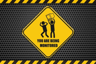 You Are Being Monitored sfondi gratuiti per cellulari Android, iPhone, iPad e desktop