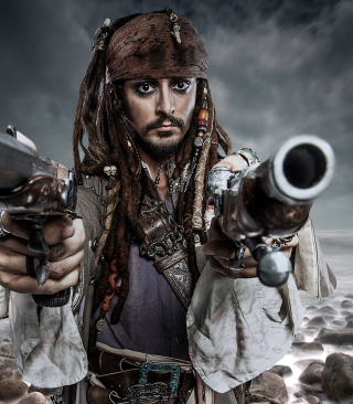 Free Jack Sparrow Picture for Nokia C6