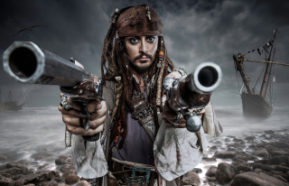 Free Jack Sparrow Picture for Android, iPhone and iPad