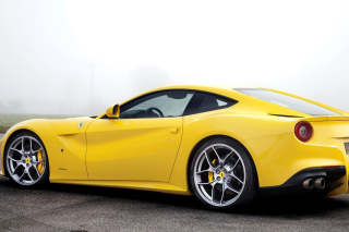 Ferrari F12 Berlinetta Background for Android, iPhone and iPad