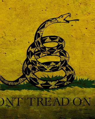 Gadsden flag, Dont tread on me Wallpaper for Nokia Lumia 928