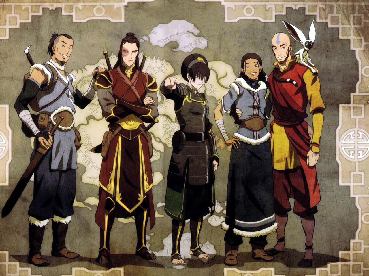 Screenshot №1 pro téma Avatar The Last Airbender 1280x960