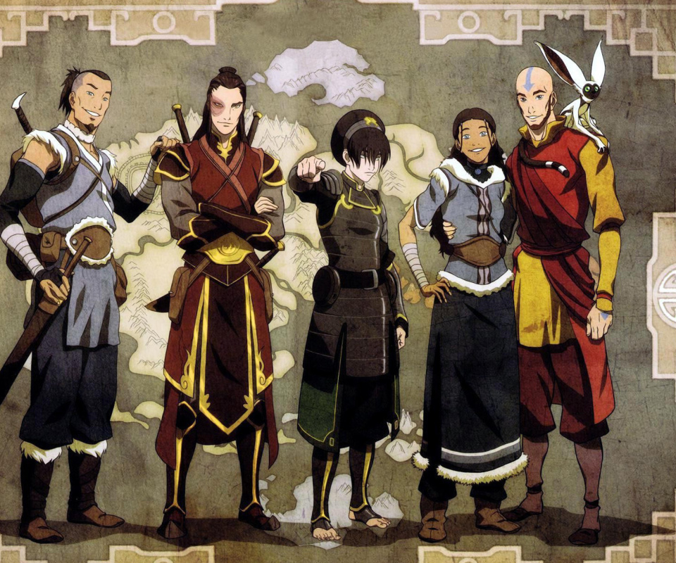 Screenshot №1 pro téma Avatar The Last Airbender 960x800