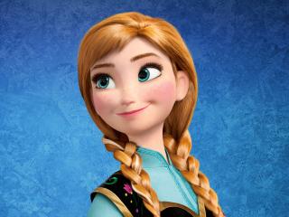 Anna Frozen para Nokia Asha 201