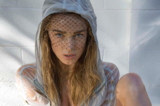 Free Caity Lotz Picture for Samsung Galaxy Tab 4G LTE