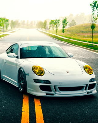 Porsche 911 GT3 Supercar Wallpaper for Nokia C1-01
