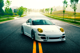 Porsche 911 GT3 Supercar Background for Android, iPhone and iPad
