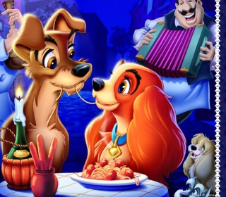 Lady And The Tramp Wallpaper for iPad 3