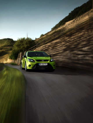 Ford Focus RS Wallpaper for iPhone 5