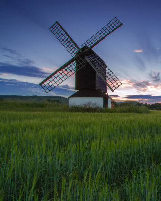 Windmill in Netherland Background for HTC Titan