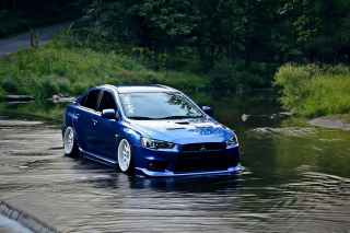 Mitsubishi Lancer Evolution X Picture for Android, iPhone and iPad