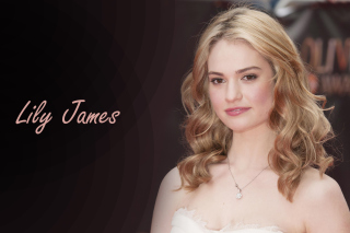 Lily James Wallpaper for Android, iPhone and iPad
