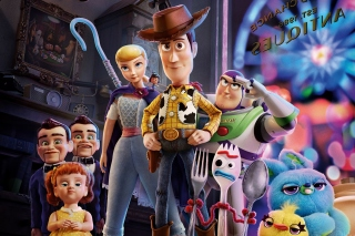 Toy Story 4 Wallpaper for 220x176
