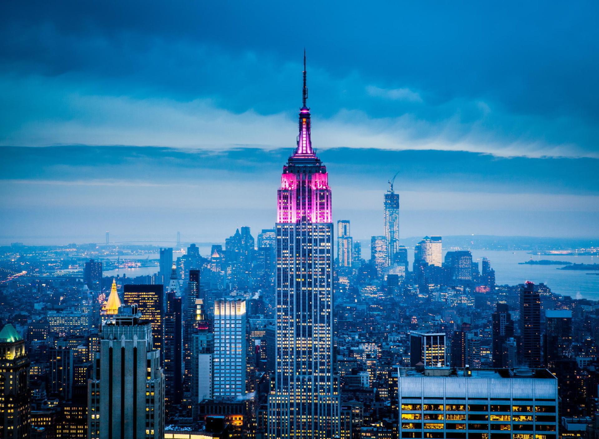 здания в Нью-Йорке бесплатно